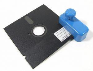 Floppy Disk Punch